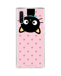 Chococat Upside Down Galaxy Note 10 Clear Case
