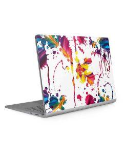 Chromatic Splatter White Surface Book 2 15in Skin