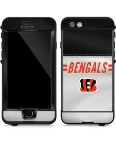 Cincinnati Bengals White Striped LifeProof Nuud iPhone Skin
