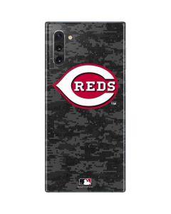 Cincinnati Reds Digi Camo Galaxy Note 10 Skin