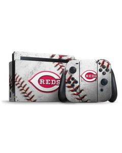 Cincinnati Reds Game Ball Nintendo Switch Bundle Skin