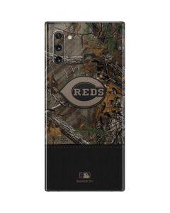 Cincinnati Reds Realtree Xtra Camo Galaxy Note 10 Skin