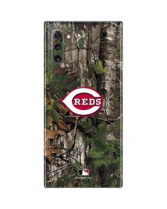 Cincinnati Reds Realtree Xtra Green Camo Galaxy Note 10 Skin