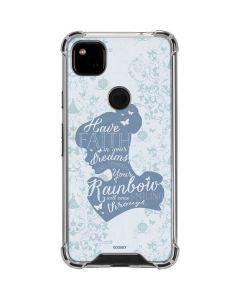 Cinderella Faith In Your Dreams Google Pixel 4a Clear Case