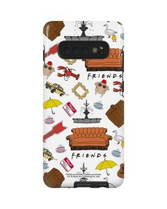 Classic FRIENDS Icons Galaxy S10 Plus Pro Case