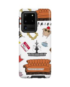 Classic FRIENDS Icons Galaxy S20 Ultra 5G Pro Case