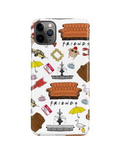 Classic FRIENDS Icons iPhone 11 Pro Max Lite Case