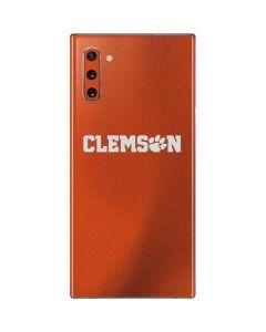 Clemson Galaxy Note 10 Skin