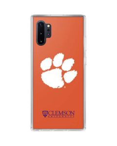 Clemson Paw Mark Galaxy Note 10 Plus Clear Case