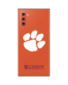 Clemson Paw Mark Galaxy Note 10 Skin