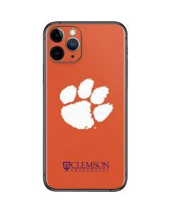 Clemson Paw Mark iPhone 11 Pro Skin
