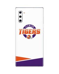 Clemson Tigers Football Galaxy Note 10 Skin