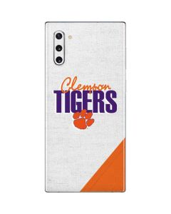 Clemson Tigers Galaxy Note 10 Skin