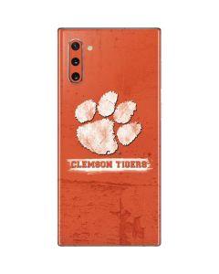 Clemson Tigers Vintage Galaxy Note 10 Skin