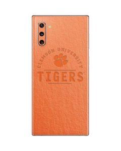 Clemson University Tigers Galaxy Note 10 Skin