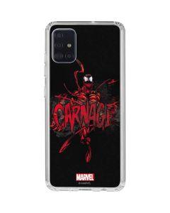 Cletus Kasady Galaxy A51 Clear Case