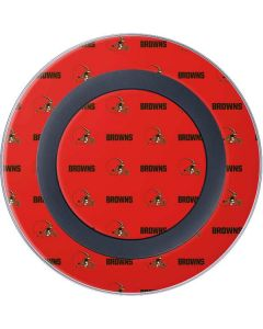 Cleveland Browns Blitz Series Wireless Charger Skin