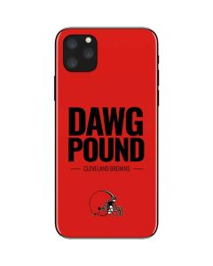 Cleveland Browns Team Motto iPhone 11 Pro Max Skin