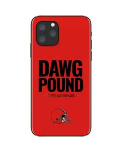 Cleveland Browns Team Motto iPhone 11 Pro Skin