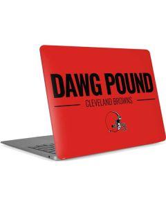 Cleveland Browns Team Motto Apple MacBook Air Skin