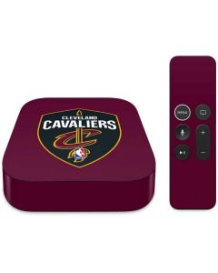 Cleveland Cavaliers Large Logo Apple TV Skin