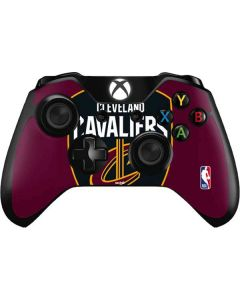 Cleveland Cavaliers Large Logo Xbox One Controller Skin