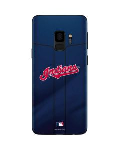 Cleveland Indians Alternate Road Jersey Galaxy S9 Skin