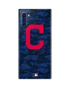 Cleveland Indians Digi Camo Galaxy Note 10 Skin