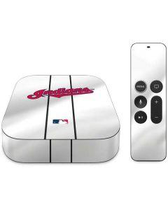 Cleveland Indians Home Jersey Apple TV Skin