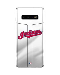 Cleveland Indians Home Jersey Galaxy S10 Plus Skin