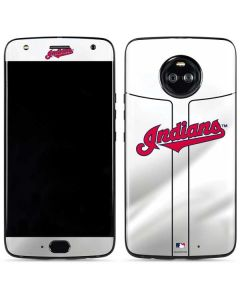 Cleveland Indians Home Jersey Moto X4 Skin