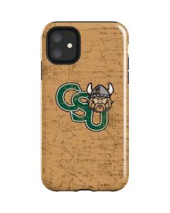 Cleveland State Beige iPhone 11 Impact Case
