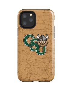 Cleveland State Beige iPhone 11 Pro Impact Case
