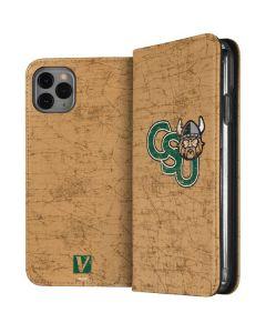Cleveland State Beige iPhone 11 Pro Max Folio Case