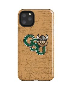 Cleveland State Beige iPhone 11 Pro Max Impact Case