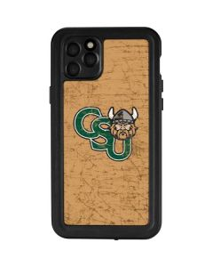 Cleveland State Beige iPhone 11 Pro Max Waterproof Case