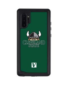 Cleveland State Green Galaxy Note 10 Plus Waterproof Case