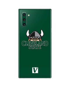 Cleveland State Green Galaxy Note 10 Skin