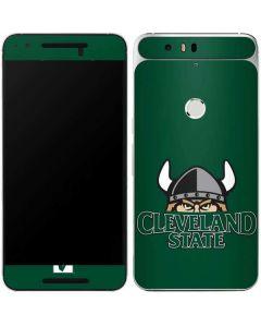 Cleveland State Green Google Nexus 6P Skin