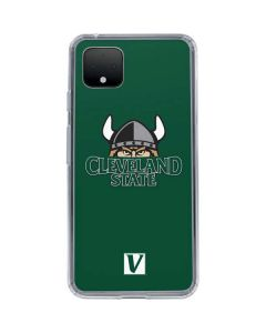 Cleveland State Green Google Pixel 4 Clear Case