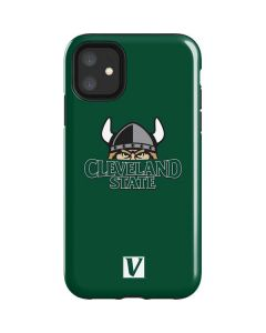 Cleveland State Green iPhone 11 Impact Case