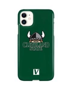 Cleveland State Green iPhone 11 Lite Case