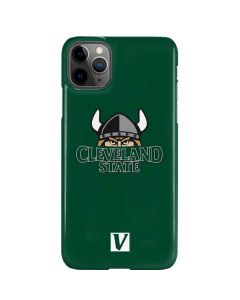 Cleveland State Green iPhone 11 Pro Max Lite Case