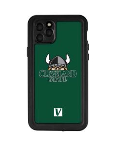 Cleveland State Green iPhone 11 Pro Max Waterproof Case