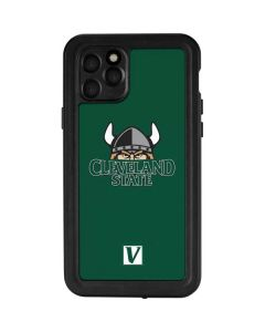 Cleveland State Green iPhone 11 Pro Waterproof Case