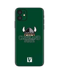 Cleveland State Green iPhone 11 Skin