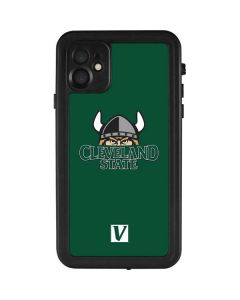 Cleveland State Green iPhone 11 Waterproof Case