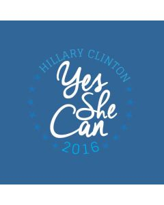 Yes She Can Hillary 2016 HP Notebook Skin