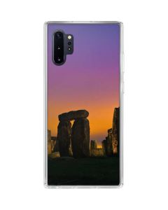 Clouds Over Stonehenge Galaxy Note 10 Plus Clear Case