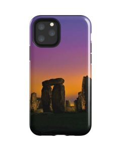 Clouds Over Stonehenge iPhone 11 Pro Impact Case